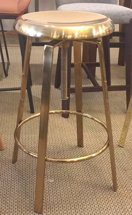 [ 椅子王 ]----黃金吧椅 《限量銷售》