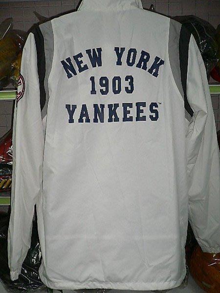 貳拾肆棒球-日本限定品.MLB大聯盟紐約洋基UNIQLO外套.L