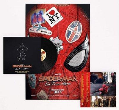 Spider-Man: Far from Home 蜘蛛人離家日電影原聲帶LP黑膠唱片
