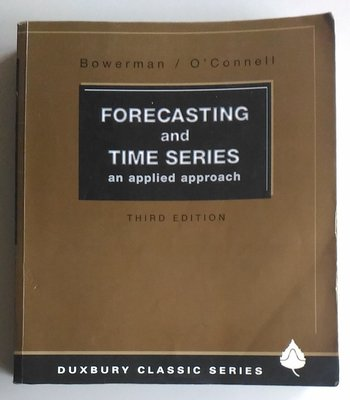 【書香傳富1993】FORECASTING and TIME SERIES 3/E---近8成新
