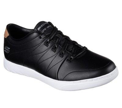 新到貨,保證正品!Skechers MILLENNIAL - LOFTY 23547 BKW 女款休閒鞋 皮布鞋