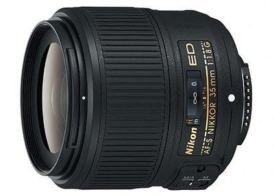 【eWhat億華】最新 Nikon AF-S Nikkor 35mm F1.8 G ED 【FX 全幅機適用】標準人像鏡 平輸 現貨【2】