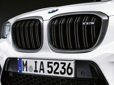 【樂駒】BMW X3M F97 原廠 M Performance Carbon 碳纖維 水箱罩 黑鼻頭 空力 外觀 套件