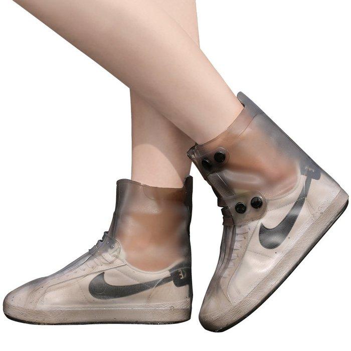 爆款--雨鞋套防水雨天男女防滑加厚耐磨底成人下雨天防雨鞋套兒童防水鞋#雨鞋套#防水#防雨#硅膠鞋套
