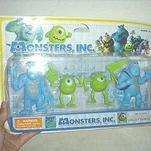 全新Monstrs INC.怪獸電力公司怪獸大學公仔