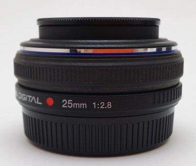 @佳鑫相機@(中古託售品)Olympus Zuiko Digital 25mmF2.8  餅乾鏡 4/3系列用