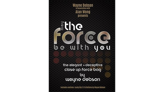 [魔術魂道具Shop]透明強選袋~~The FORCE by Wayne Dobson and Alan Wong