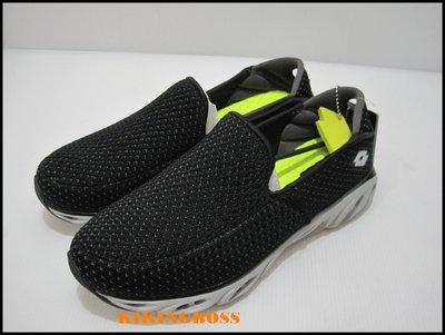 【喬治城】LOTTO EASY FLOW 男款 健走鞋(黑色)LT7AMX5320