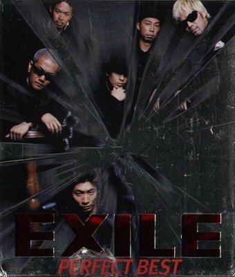 K - EXILE 放浪兄弟 - PERFECT BEST - 日版 BOX 2 CD + DVD