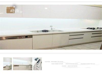@新北廚具工廠直營 廚房廚具流理台  一字型 廚具工廠直營-廚房設計特價-195cm 特價$30,300元起