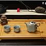 【自在坊】茶具用品  孟宗竹製小款茶盤 36*24*4.3公分 平板型 泡茶盤排水式 附排水球  超值好禮 限額贈送