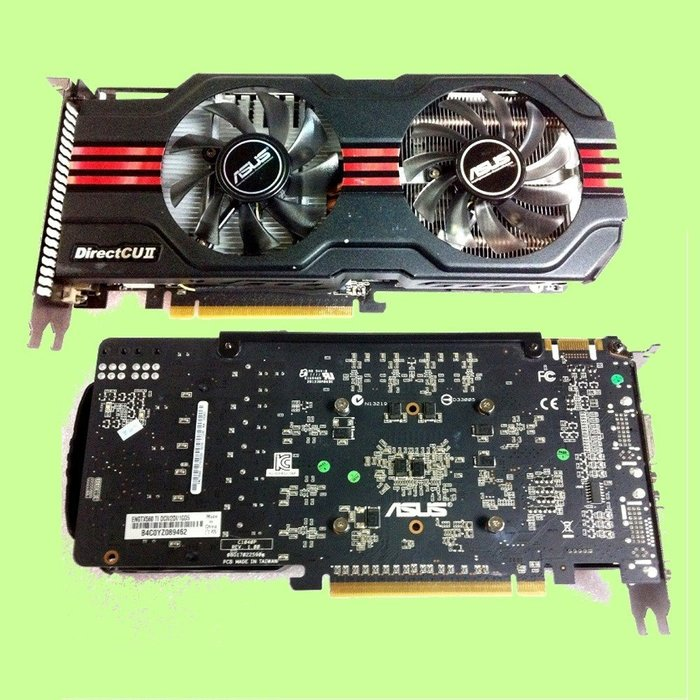 5Cgo【權宇】ASUS華碩GTX560TI DCII TOP/2GI/1GD5 GTX 顯示卡雙DVI+HDMI 含稅
