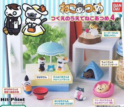 【一手動漫】 日本正版 貓咪收集桌上小物 4代 轉蛋 扭蛋 貓咪收藏 大全7種