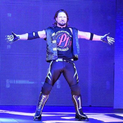 [美國瘋潮]正版 WWE AJ Styles Untouchable T-Shirt 觸不可及最新黑色款AJ衣服熱賣