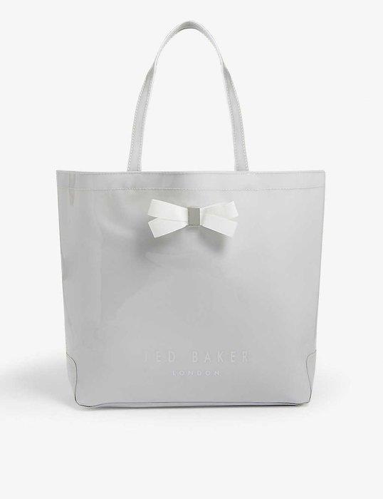 Ted Baker 購物日常用提袋 灰色 英國正品代購