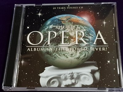 R古典(二手CD)THE BEST OPERA ALBUM IN THE WORLD EVER~2CD(古)