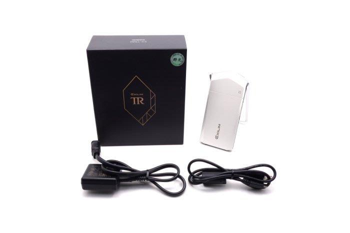 【台中青蘋果】Casio TR80 TR-80 白 自拍神器 二手 數位相機 #34060