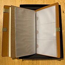 清華人書寫禮盒 皮質筆記本 原木鋼珠筆