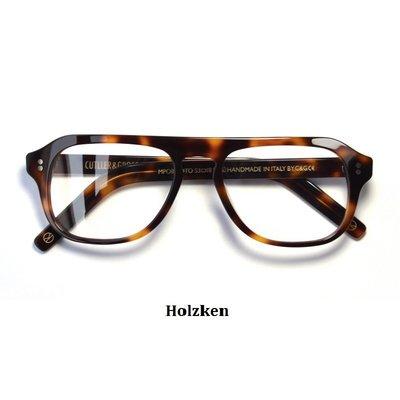導演版 Cutler and Gross Kingsman 金牌特務眼鏡 手工框 眼鏡架 手工製鏡框(玳瑁色)