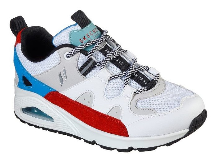 SKECHER Street UNO-KRAZY 155006 WMLT 新款女士減震透氣網面運動休閒跑步鞋記憶鞋墊氣墊
