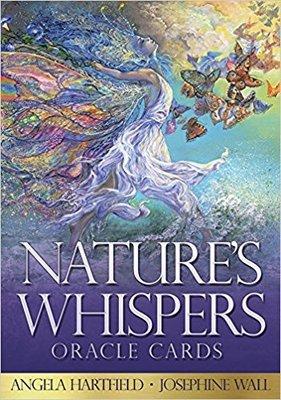 【預馨緣塔羅鋪】正版大自然絮語神諭卡Nature s Whispers Oracle Cards(全新50張)(附中文)