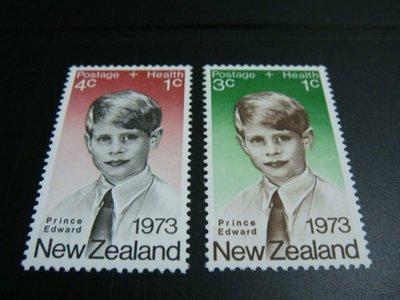 1973紐西蘭王子2全上品