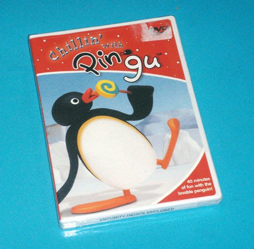 *【英語幼兒教育DVD】小pen*Chillin with Pingu*企鵝家族【New Coming】