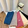 Mikis推薦【XL可 超級爆炸彈性V領柔軟親膚針織上衣】[藍,粉,卡其,杏,黑]肩48胸57長57袖攏20