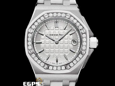 【永久流當品】 Audemars Piguet 愛彼 AP 皇家橡樹 67540 SK 原鑲鑽錶 SRO8828
