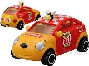 ..☆.。.【TOMIKA】日本限量☆.。維尼小蜂蜜車~*~☆.。.:*