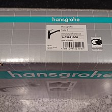 Hansgrohe talis-s single lever mixer德製伸縮龍頭(全新)