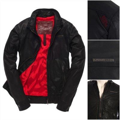 極度乾燥 Superdry Muirs leather jacket Speedway 真皮 皮衣 騎士 外套 M~XL