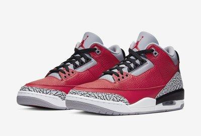 DSY-Air Jordan 3 SE Red Cement 芝加哥 籃球鞋 火紅 水泥灰 男款 CK5692-600