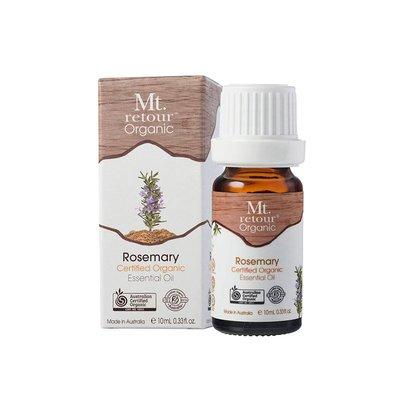 【澳洲芳療原裝】滿額免運~Mt.retour山迴100%天然有機迷迭香精油Rosemary 10ml 超新鮮現貨