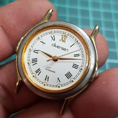 <行走中>古典 日本錶頭<無玻璃> 石英錶 識貨的別錯過嘍~ 另有 水鬼錶 潛水錶 老錶 飛行錶 機械錶 E盒 OMEGA TELUX lm