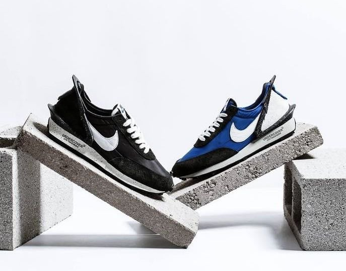 【Luxury】Nike x UNDERCOVER  Daybreak 高橋盾 潑點 鯊魚口 男鞋 黑魂視覺 正品代購