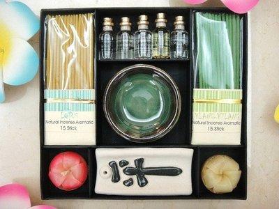 Y【永晴峇里島】巴里島線香,精油 ,蠟燭禮盒組,增添異國風味,居家,民宿,飯店都好用-禮品2