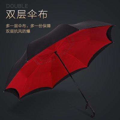 雨傘汽車載車用雨傘反向傘男德國全自動超大號雙人雙層長柄女晴雨兩用