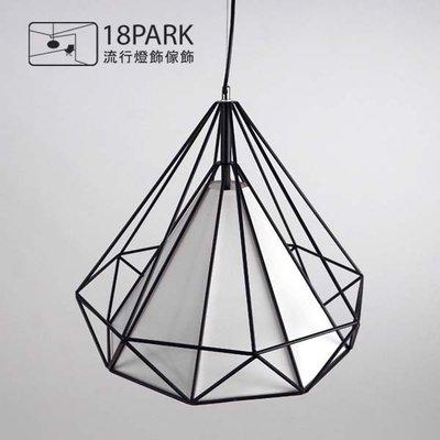 【18Park】光的線條 Brightness Stripe [ 鑽石線吊燈-38cm ]