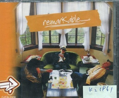 *真音樂* REMARK ABLE 全新 K21961