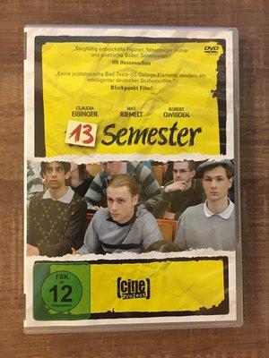 【㊣二手DVD】13 Semester/追愛13期~《超感8人組》Max Riemelt主演 (歐版無中文字幕)