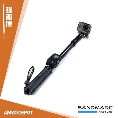 【AMMO DEPOT.】 SANDMARC 運動相機 配件 鋁合金 自拍桿 延伸桿 無限銀 50吋 SM-209