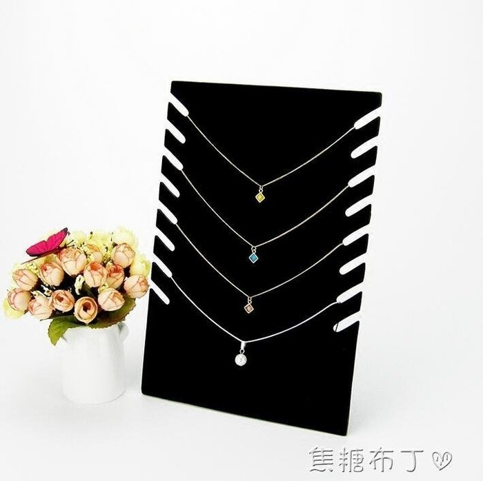 創意首飾展示架項錬飾品收納板吊墜掛架珠寶道具櫃台陳列擺件 秘密盒子 WD