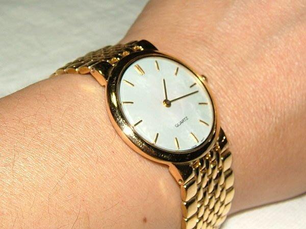 全心全益低價特賣*伊陸發鐘錶**真善美金腕錶* 拍賣到財運.好運旺旺來