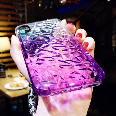 手機殼 時尚透明iphone7手機殼X蘋果6s外殼8plus軟膠水晶掛繩保護套女款