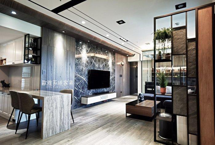 【歐雅系統家具】享受好宅 鞋櫃 屏風 電視牆 臥榻 床頭櫃 衣櫃 餐桌 廚具 衛浴