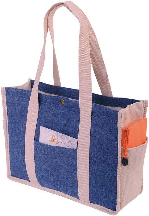 [購物袋][環保袋] 德州牛仔布提袋