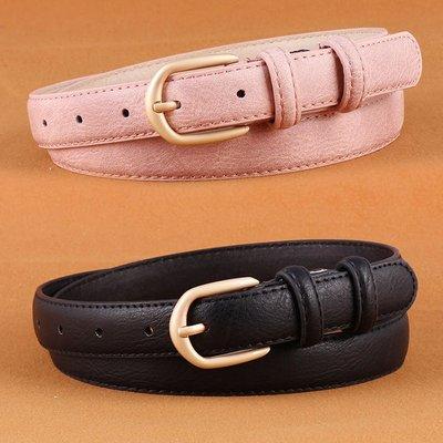 腰鏈皮帶 素色 好搭配 時尚 牛仔褲 裝飾 針釦 皮帶 寬版 腰帶【NR577】