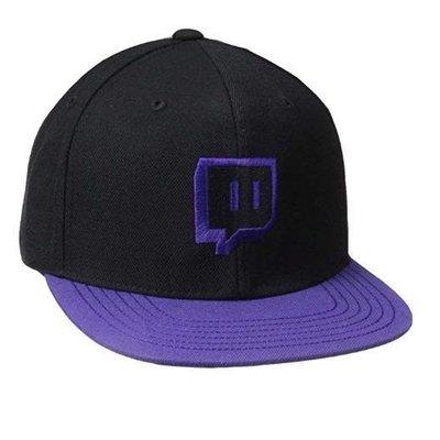 正版twitch帽子 正版twitch twitch twitch帽子 twitch帽 圖奇