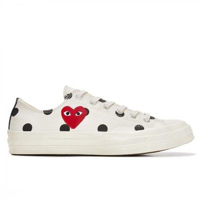 【日貨代購CITY】 川久保玲 Converse Polka Dot Chuck Taylor Low 白 低筒 帆布鞋